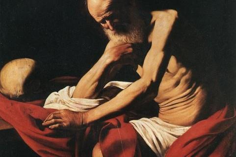 Caravaggio - St Jerome, 1605