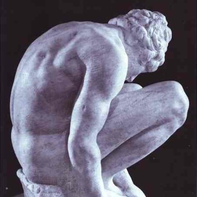 Michelangelo - Crouching Boy
