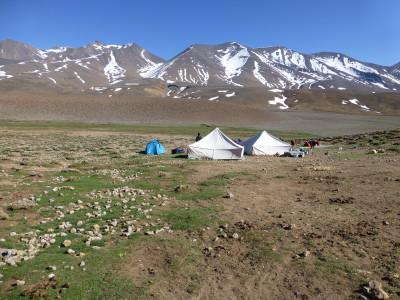 Altipiano di Tarkeddid 2900 mt. Campo.