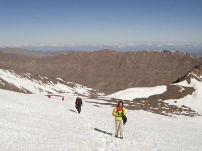 Prima vetta a 3900 mt.