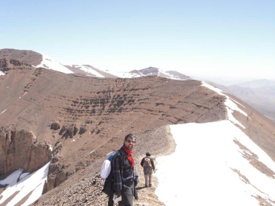 Cresta a 3900 mt.