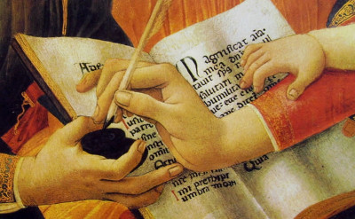 Botticelli - Madonna del Magnificat particolare