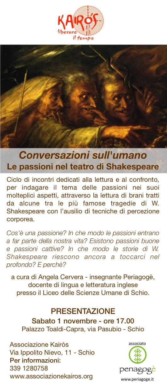 Conversazioni Sull'Umano - Shakespeare