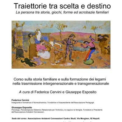 Corso annuale sulla storia familiare. Napoli 23 marzo