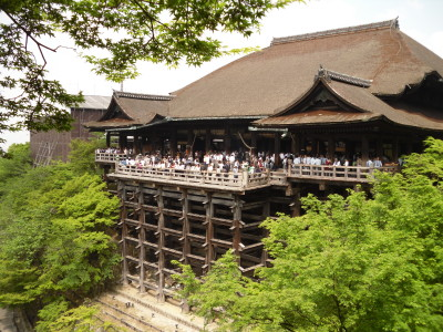 Kyoto - Tempio dei 100 pilastri